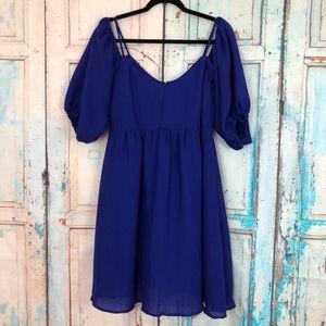 Moulinette Soeurs Cold Shoulder Dress